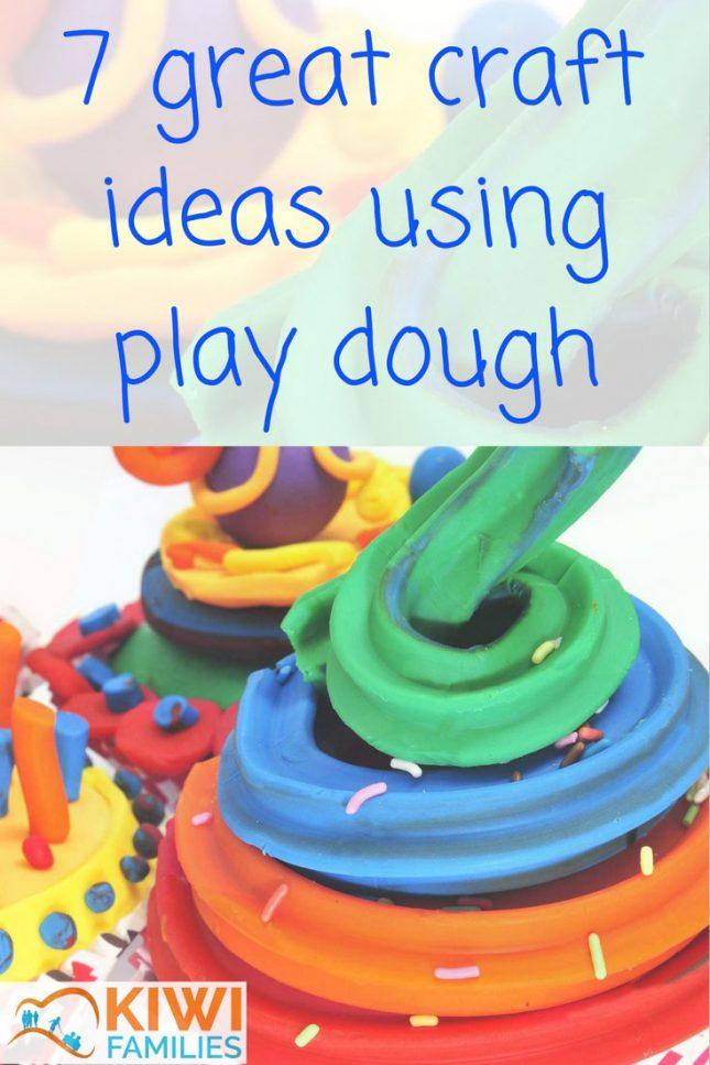 7 great craft ideas using play dough