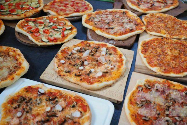 Summer holiday food-pizza