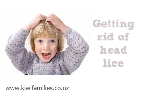 getting rid of head lice