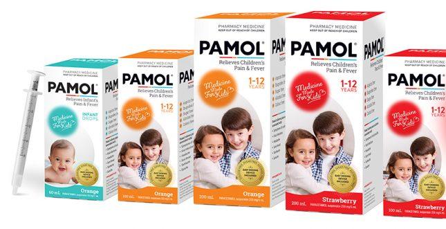 using paracetamol with children