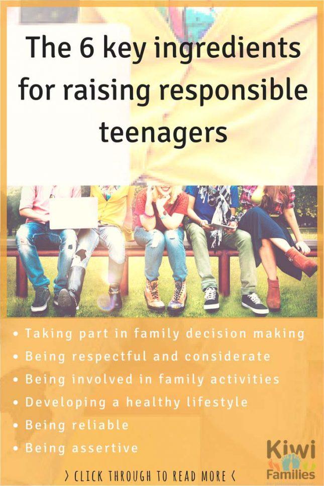 raising responsible teenagers