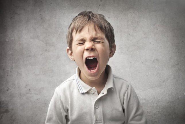 Aggressive behaviour in children