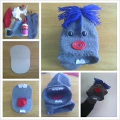 sock puppet craft