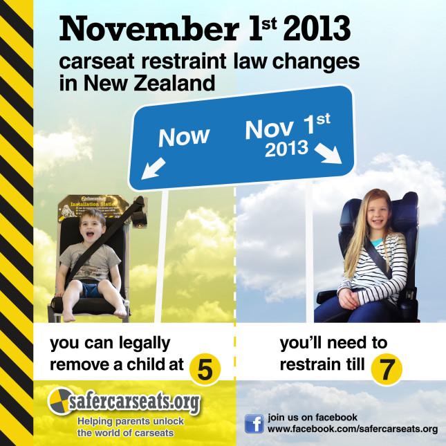 Car Seat Laws Nz