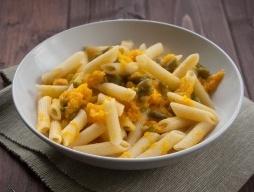 pumpkin pasta finger food
