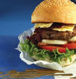 Beef burger recipe