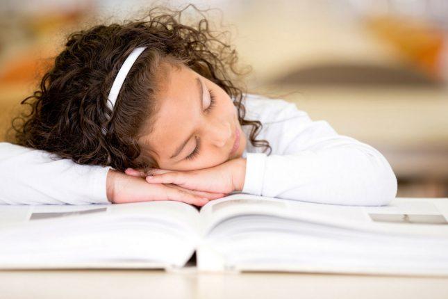 Sleep problems in school aged children