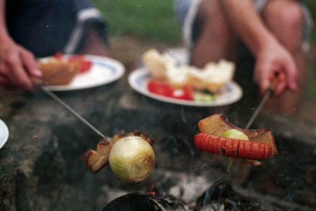 Summer holiday food
