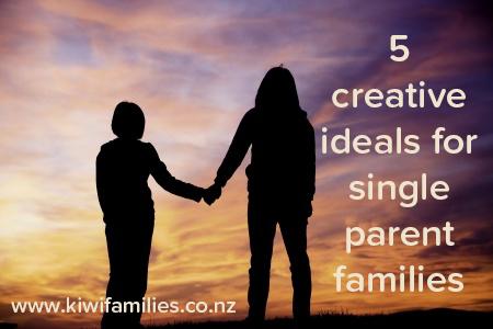 creative single parents