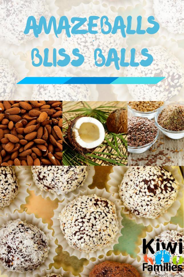 Amazeballs Bliss Balls - pin