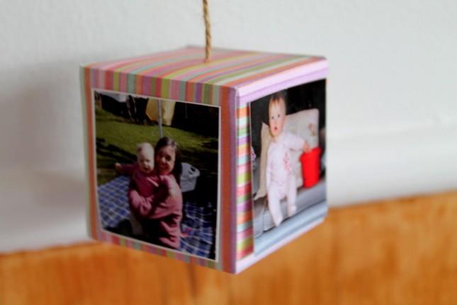 Homemade photo boxes
