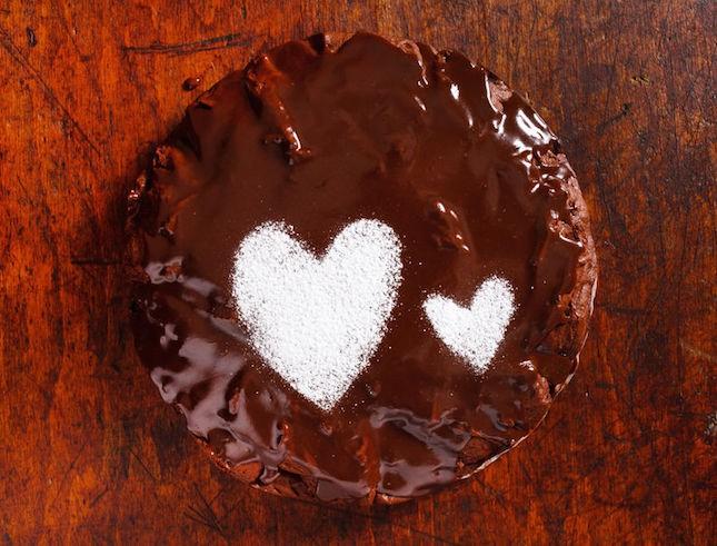 Choc 'n' beet cake
