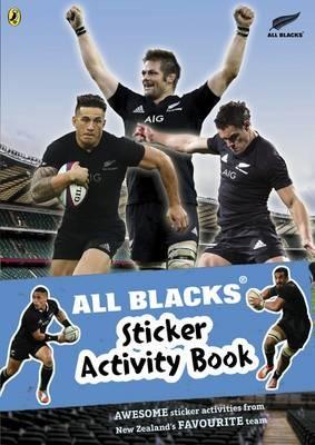All Blacks Sticker Activity Book