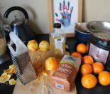 Grapefruit Marmalade setup