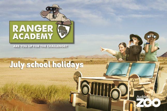 Auckland Zoo Ranger Academy Kiwi Families