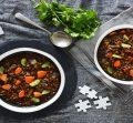 Lentil-and-vegetable-soup