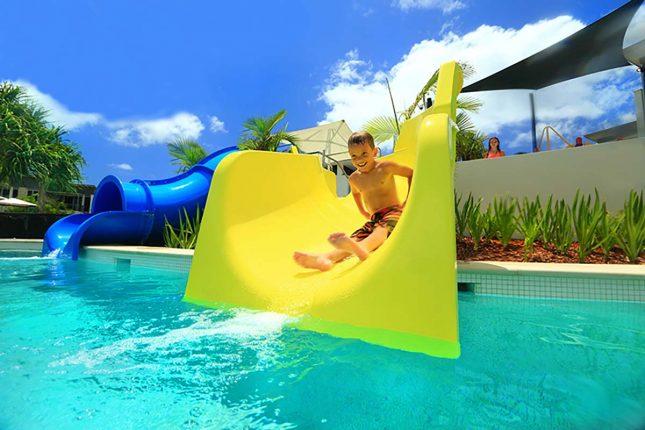 RACV Noosa Resort-water slides