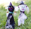 Kids Halloween crafts – spooky puppets