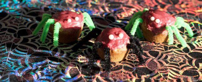 spider-banana-muffins