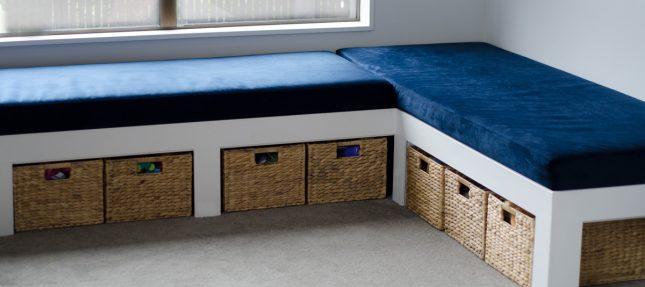 Diy Window Bench Seat With Storage Kiwi Families