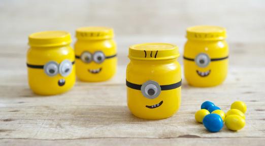 minion storage jar