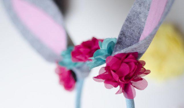 how to make bunny ears flowers
