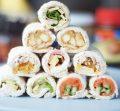 Sushi sandwich rolls 6 ways