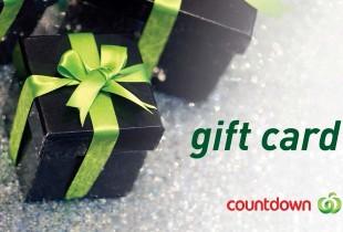 countdown gift card