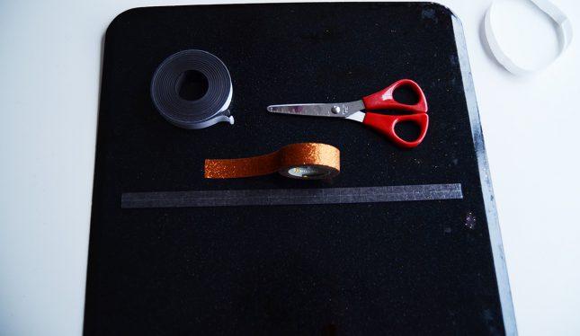 Under-stairs-kids-study-nook-washi-tape2