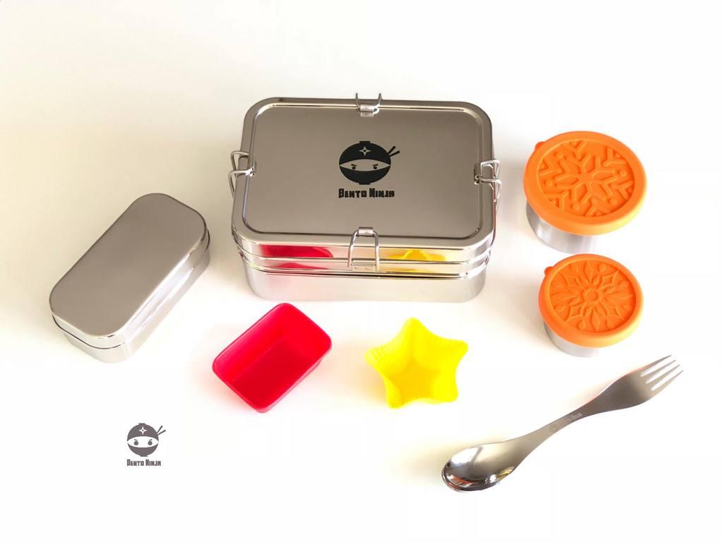 bento ninja lunchbox system kiwi families. Black Bedroom Furniture Sets. Home Design Ideas