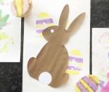 Potato Stamp Easter Eggs