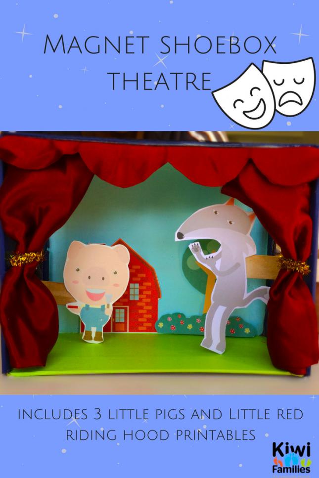 shoebox theatre magnet
