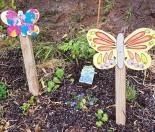 Garden butterfly ornament art project