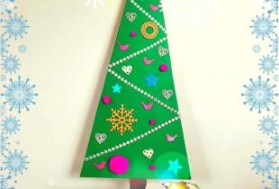 DIY Eco-friendly Christmas Tree-KFM