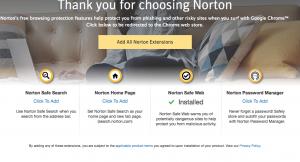 Installing Norton Security Premium