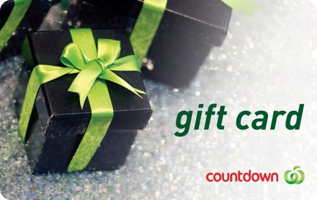 Countdown Gift Card - Kiwi Families
