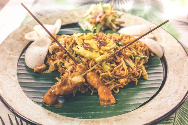 Singapore Fried Noodles