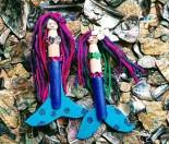 How to make a mermaid peg doll