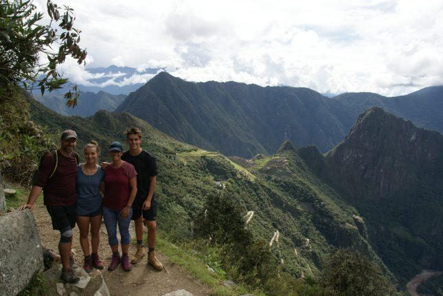 Peru - a great family holiday destination - macchu pichu