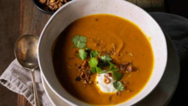 Curried Roasted Pumpkin Soup - Gayel Pitcorn, Sweet Louise Member