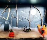 Spooky Box Halloween Scene
