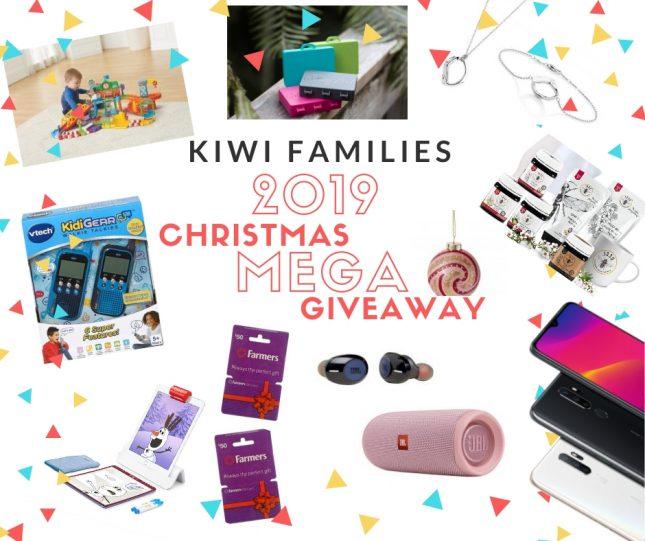 Kiwi Families 2019 Christmas Mega Giveaway