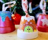 DIY Clay Pot Christmas Craft decorations 3