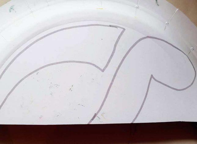 Paper Plate Dinosaur body (1)
