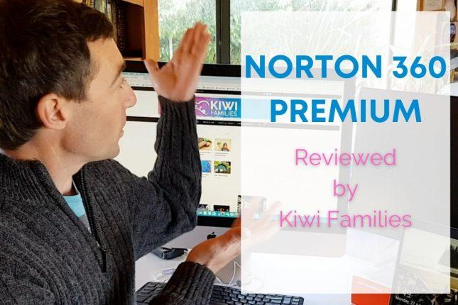 Norton 360 Premium - Review by Kiwi Families