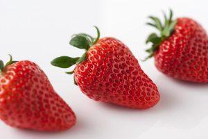10 Weeks Pregnant-strawberry