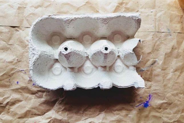 Egg Carton - Boat craft carton