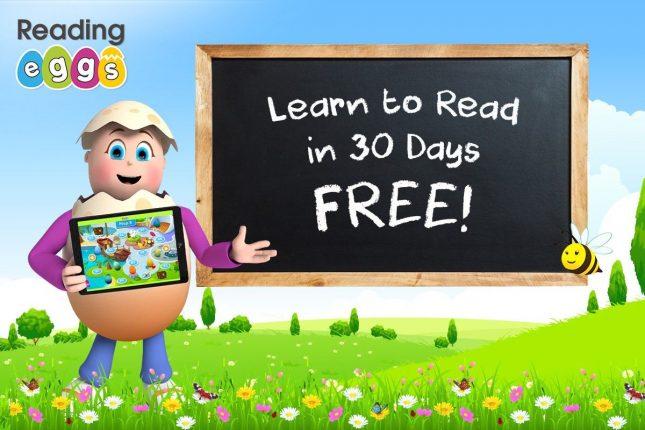 Free 30 trial Reading Eggs