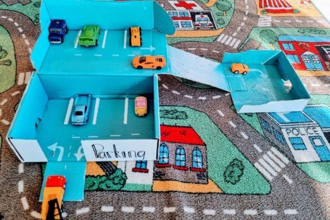 shoebox car park craft